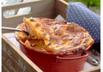 Skrei-lasagne