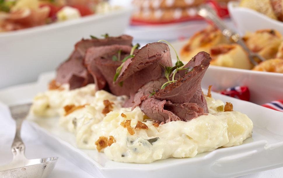 Roast-biff-potet-salat