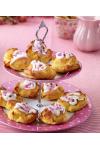 Valnøtt og Ritzkake -bruk gjerne glutenfrie småkjeks