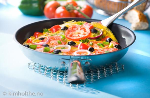 Smak-full-omelett