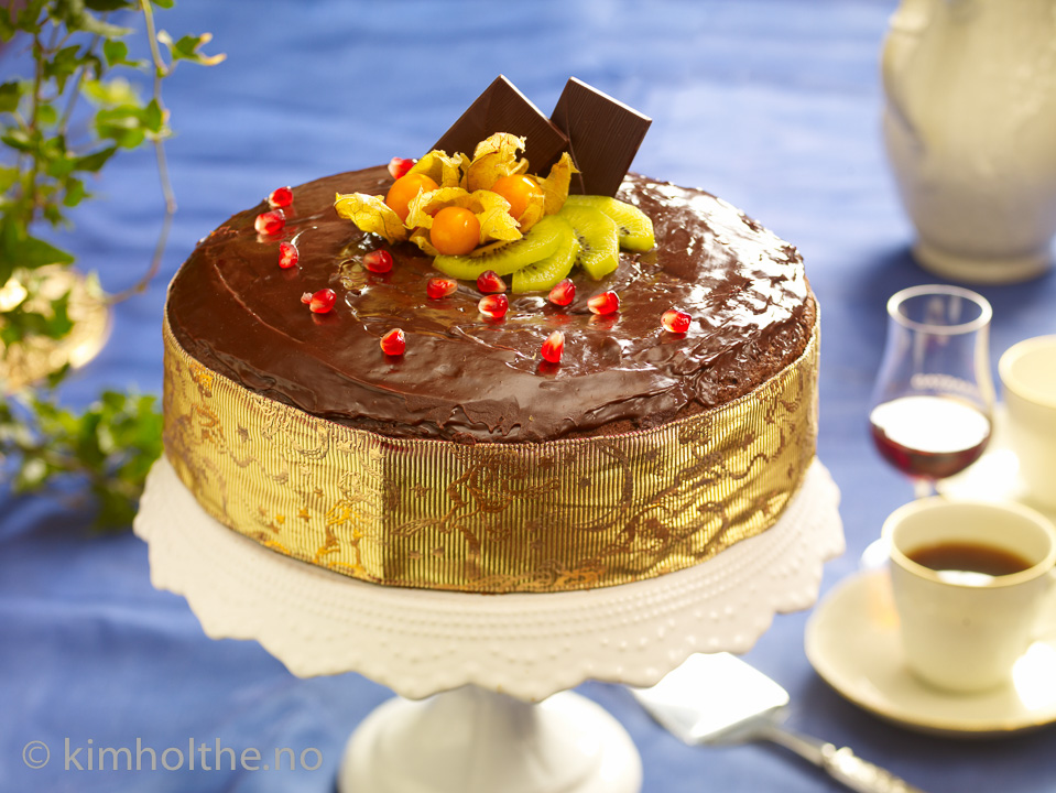 saftig -sjokolade-kake