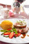 Spinat- og kjøttdeigfylte lasagneplater