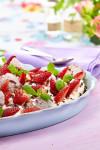 Grillet lun fruktsalat
