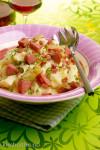 Tomatisert fiskegryte med torsk, poteter og grønnsaker