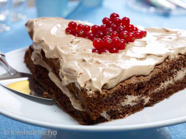 trekant-sjokolade-kake