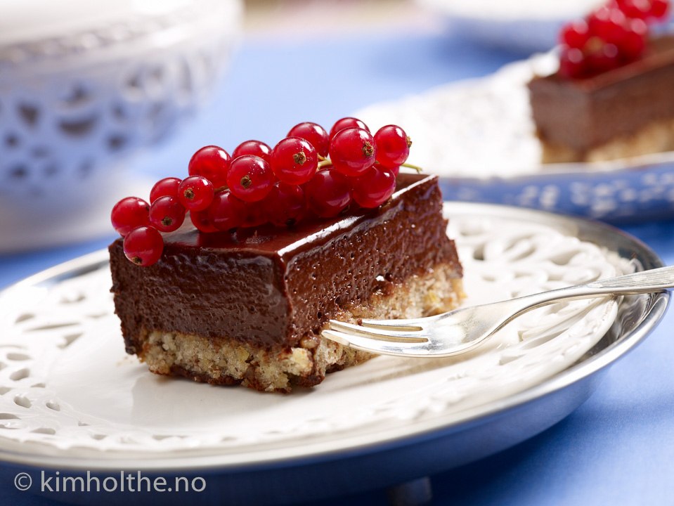 sjokolade-mousse-kake