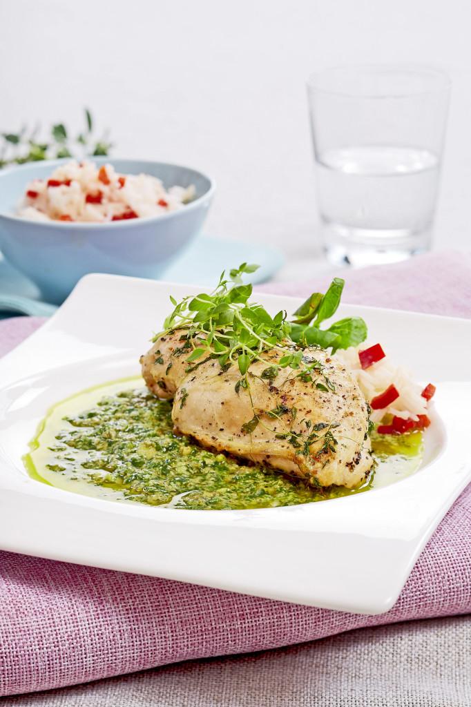 kylling-gronn-saus
