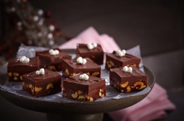 sjokolade-biter-nøtter