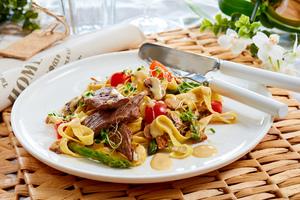hjemmelaget-pasta-biff-gorgonzola