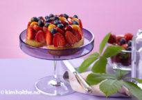 frukt-terte