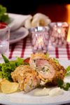Limemarinert kylling med lun salat