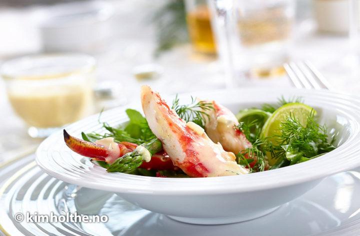 konge-krabbe-med-sørsaus