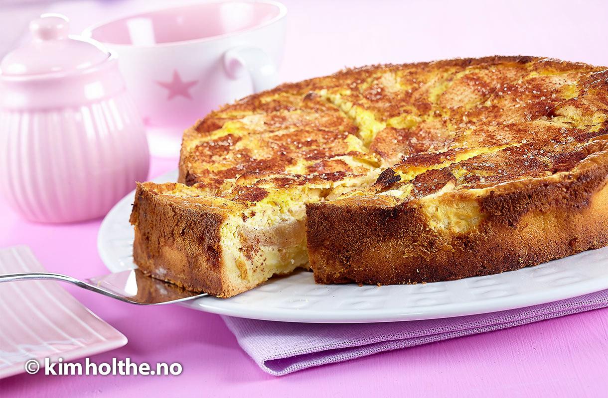 eple-kake-ost