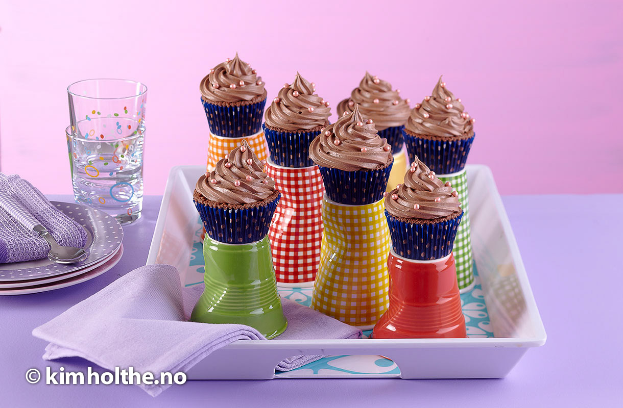 sjokolade-cup-cake