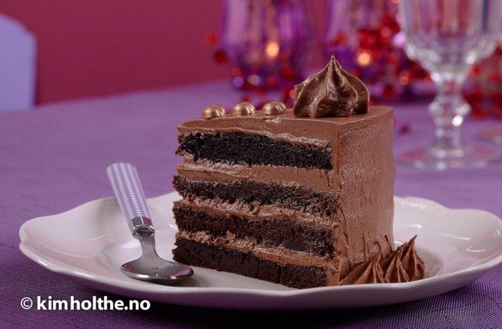 sjokolade-kake
