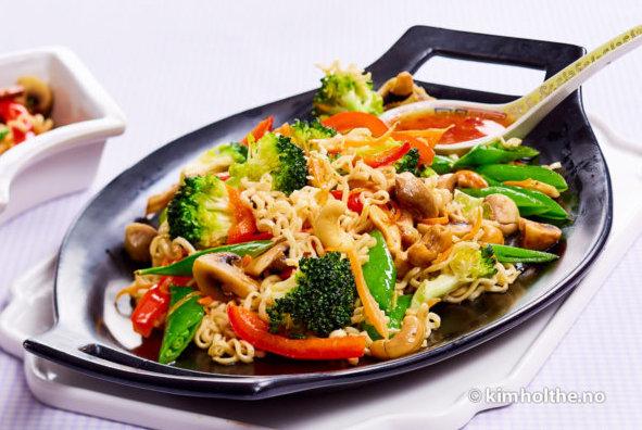 Gronnsaks-wok