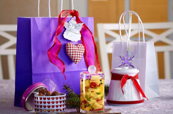 Spiselige gaver til jul