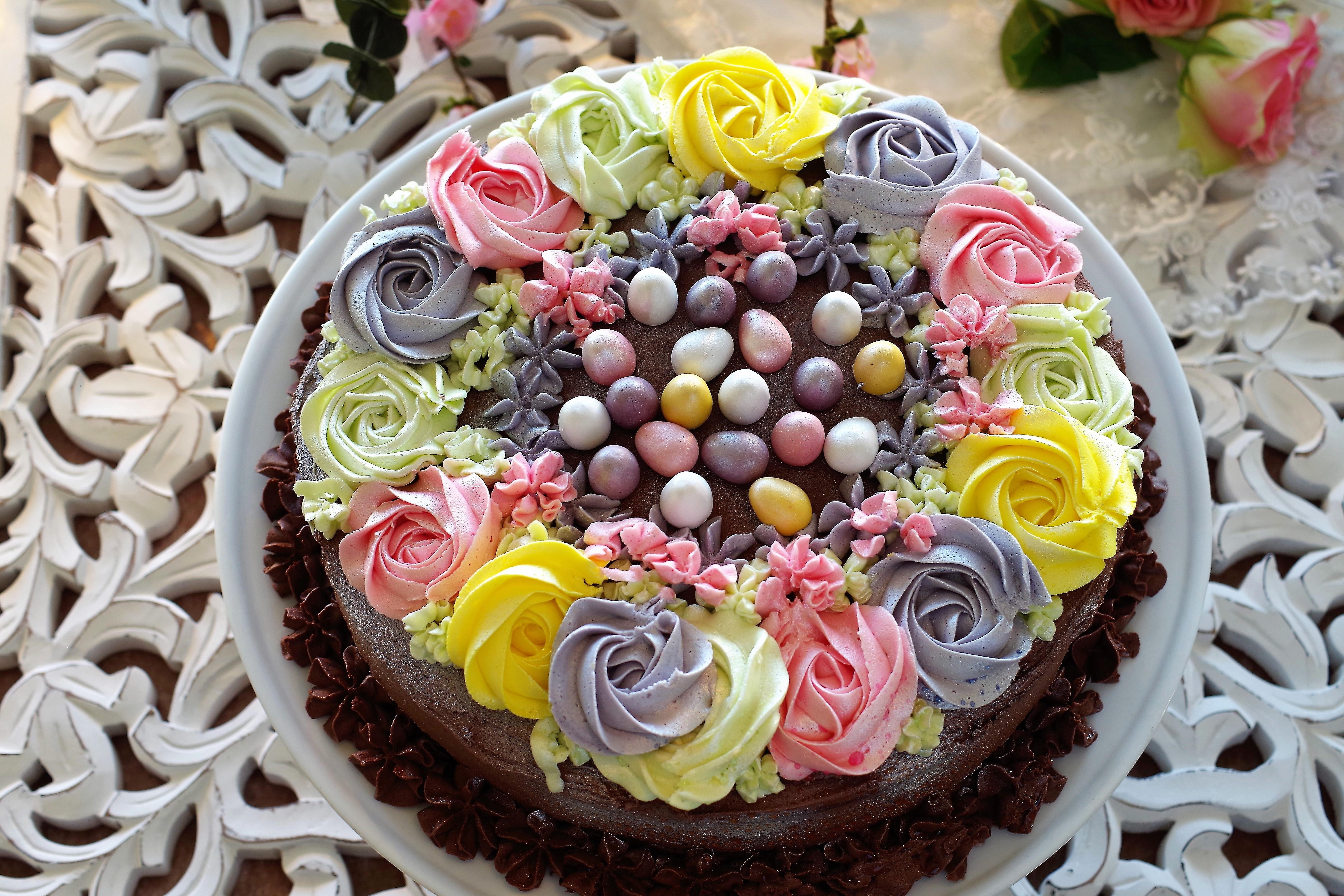 vårens vakreste kake