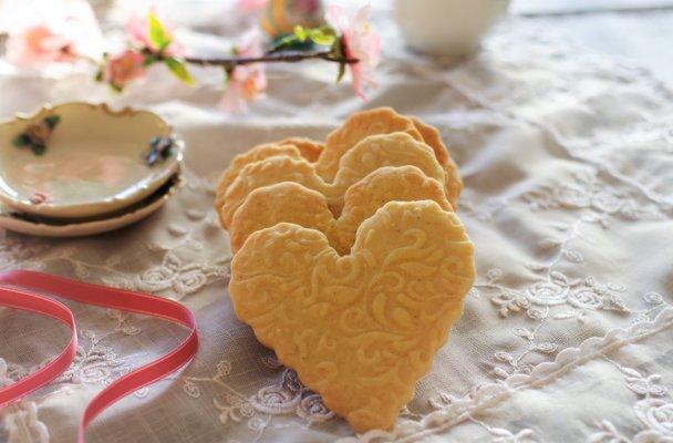 rosekjeks i hjerte