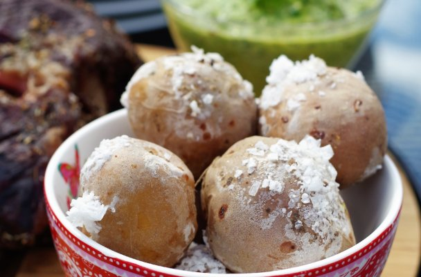 Saltbakte-poteter
