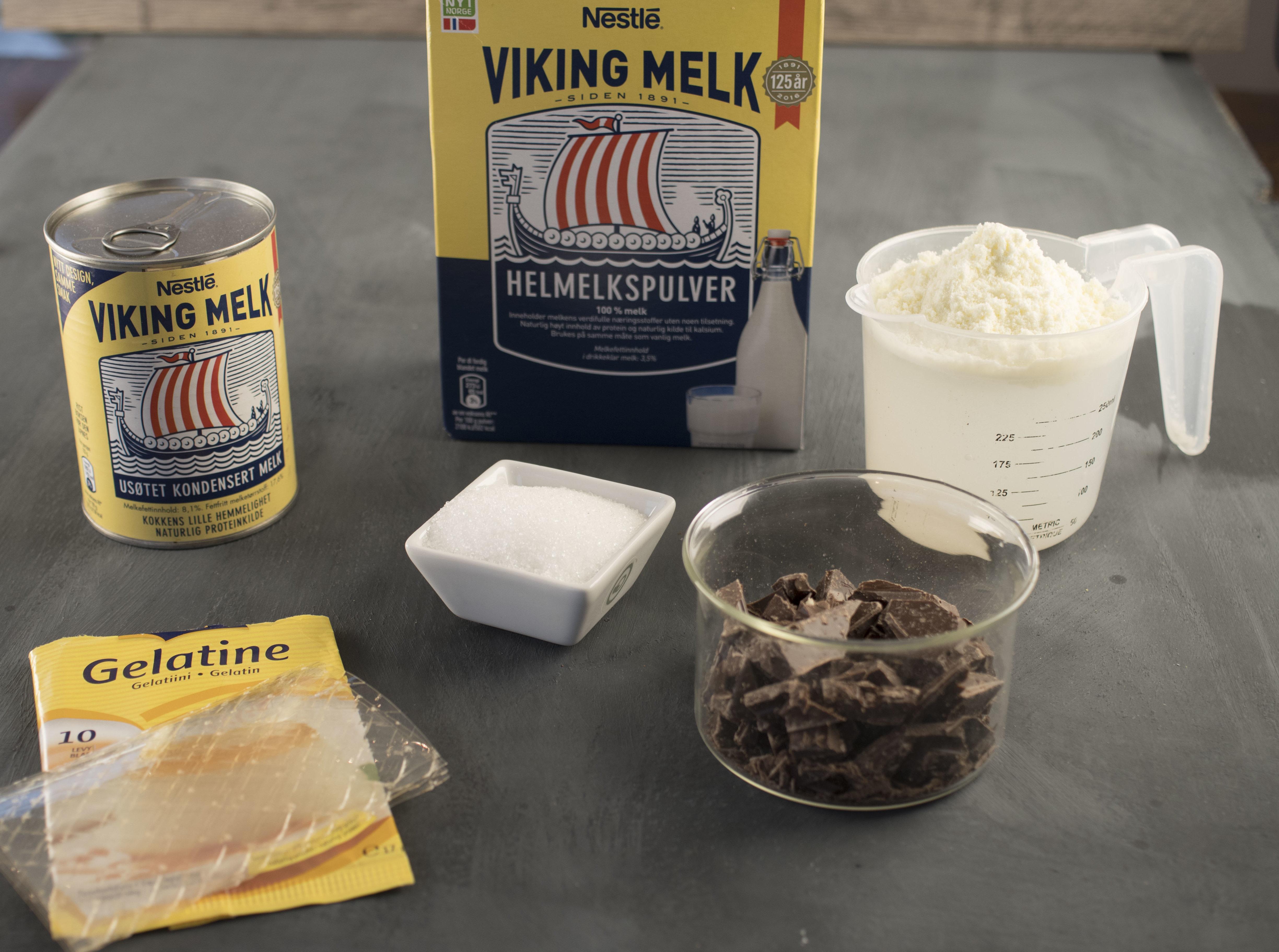 ingredienser sjokoladepudding
