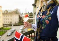bunad og champagne
