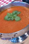 Kongekrabbe med chili og hvitløk og smørsaus.