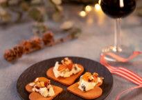 pepperkaker med blåmugg og amarone eller portvin